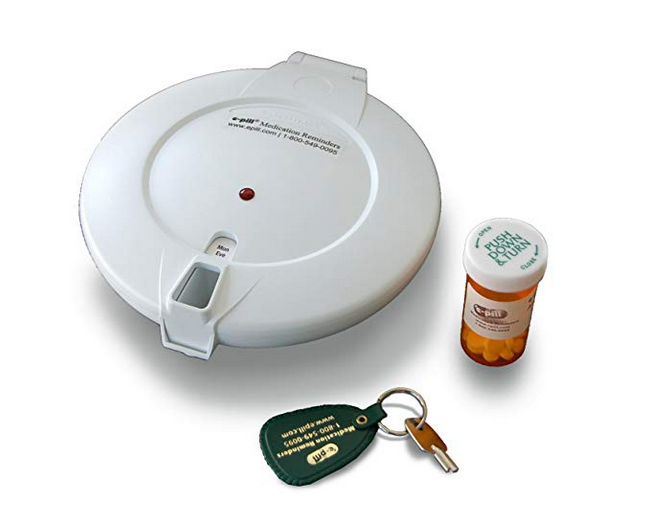 7 Best Pill Boxes with Alarms   This Caring Home