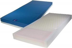 Drive Medical Gravity 7 Long Term Care Pressure Redistribution Mattress, No Cut Out, 80""